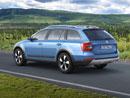 Škoda Octavia Scout: Světlá výška 171 mm, utáhne až 2000 kg