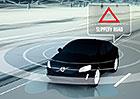 Volvo Car-2-Car a Car-2-Object: Pozor, silnice je kluzká!