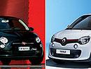 Designový duel: Fiat 500 vs. Renault Twingo