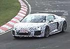 Spy video: Nové Audi R8 burácí na Severní smyčce