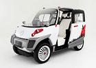 Fomm Concept One: Maličký elektromobil pro čtyři zvládne i vodu