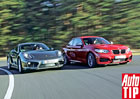 BMW M235i vs. Porsche Cayman S: Je král mrtev?