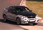 Spy video: Nové BMW X6 jezdí naplno na Severní smyčce
