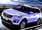 Hyundai ix25 na první uniklé fotografii