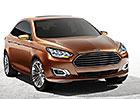 Ford Escort: Produkční verze se představí v Pekingu