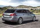 Peugeot 308 SW: V Česku od 397.000 Kč s 1.2 THP
