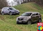 Kia Sportage 1.7 CRDi vs. Honda CR-V 1.6 i-DTEC
