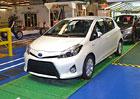 Toyota Yaris: 2,5 milionu aut z francouzsk�ho Valenciennes