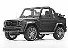 Brabus G 500 Cabrio: 462 otev�en�ch kon� na rozlou�enou
