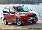 Ford Tourneo Courier 1.0 Ecoboost a 1.6 TDCI: První jízdní dojmy