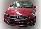 Peugeot 508: Facelift na první fotografii