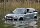 Range Rover Sport SDV8 a Range Rover Hybrid: První jízdní dojmy