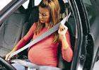 Těhotné ženy za volantem častěji bourají