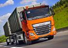 Nové podvozky DAF CF a XF: Speciality