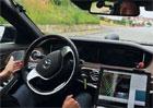 Video: Mercedes prezentuje schopnosti automaticky řízené třídy S