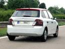 Škoda Fabia III přistižena na dálnici D11 (foto/video)