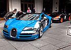 Video: 11 kusů Bugatti Veyron na jednom místě