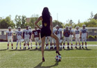 Video: Kia, supermodelka Adriana Lima a fotbal
