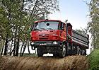 Čínská firma vyrobí v licenci 10.000 nákladních vozů Tatra TERRN°1