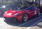 První fotky pravděpodobně nejdražšího Ferrari, modelu F12 TRS