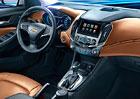 Chevrolet odhaluje interiér nové generace Cruze, je luxusnější než dnes