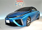 Toyota odhalila model FCV, první masově vyráběný automobil s palivovými články (+video)