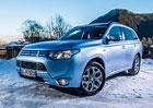 Mitsubishi Outlander PHEV: V Česku od 1.250.000 Kč