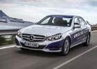 Hybridn� Mercedes-Benz E ujel na jednu n�dr� 1.968 km