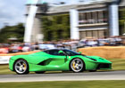Ferrari v Goodwoodu: Hvězdy F1, zelené LaFerrari a F12 TRS (video)