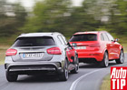 Mercedes-Benz GLA 45 AMG vs. Audi RS Q3