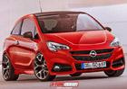 Možný vzhled Opelu Corsa OPC podle X-Tomi
