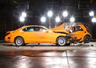 Nov� Smart ForTwo vs. Mercedes-Benz S: Jak dopadl crashtest?