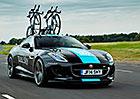 Speciální Jaguar F-Type R Coupe jakožto podpora pro cyklistické závody (+ video)