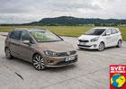 Kia Carens 1.7 CRDi/100 kW vs. Volkswagen Golf Sportsvan 2.0 TDI/110 kW