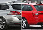 Designový duel: Peugeot 308 SW vs. Škoda Octavia
