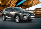 Lexus NX 300h: V Česku od října za 1.029.000 Kč