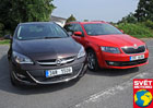 Test spot�eby: Opel Astra Sports Tourer LPG vs. �koda Octavia Combi G-Tec