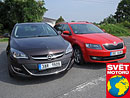 Test spotřeby: Opel Astra ST LPG vs. Škoda Octavia Combi G-Tec