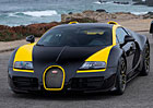 Bugatti Veyron One of One: Černožlutý speciál místo Elišky
