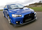 "Výroba Mitsubishi Evolution X bude ukončena verzí ""Special Action Model"""