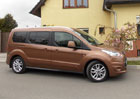 Ford Connect Tourneo a Van: Tich� �eka