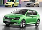 Škoda Fabia: Design po generacích