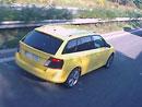 Škoda Fabia Combi přistižena na dálnici D11 (+video)