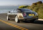 Bentley Mulsanne Speed: Luxusní sedan nabízí 1.100 N.m