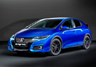 Honda Civic 2015: Facelift ve stylu Type R