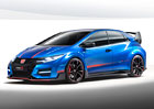 Honda Civic Type R Concept II: Adaptivní tlumiče a režim +R (+video)
