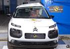 Nové testy Euro NCAP: Čtyři hvězdy pro Citroën C4 Cactus