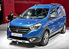 Dacia v Pa��i: Ve znamen� oplastovan�ch voz�