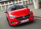 Opel Corsa E OPC Line: Pátá generace s efektními spoilery