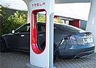 Tesla chce v Česku vybudovat čtyři supernabíječky